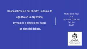 Debates sobre el aborto Seminario Cendie