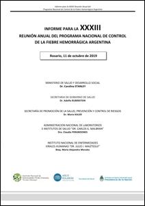 Tapa informe Reunión Anual 2019