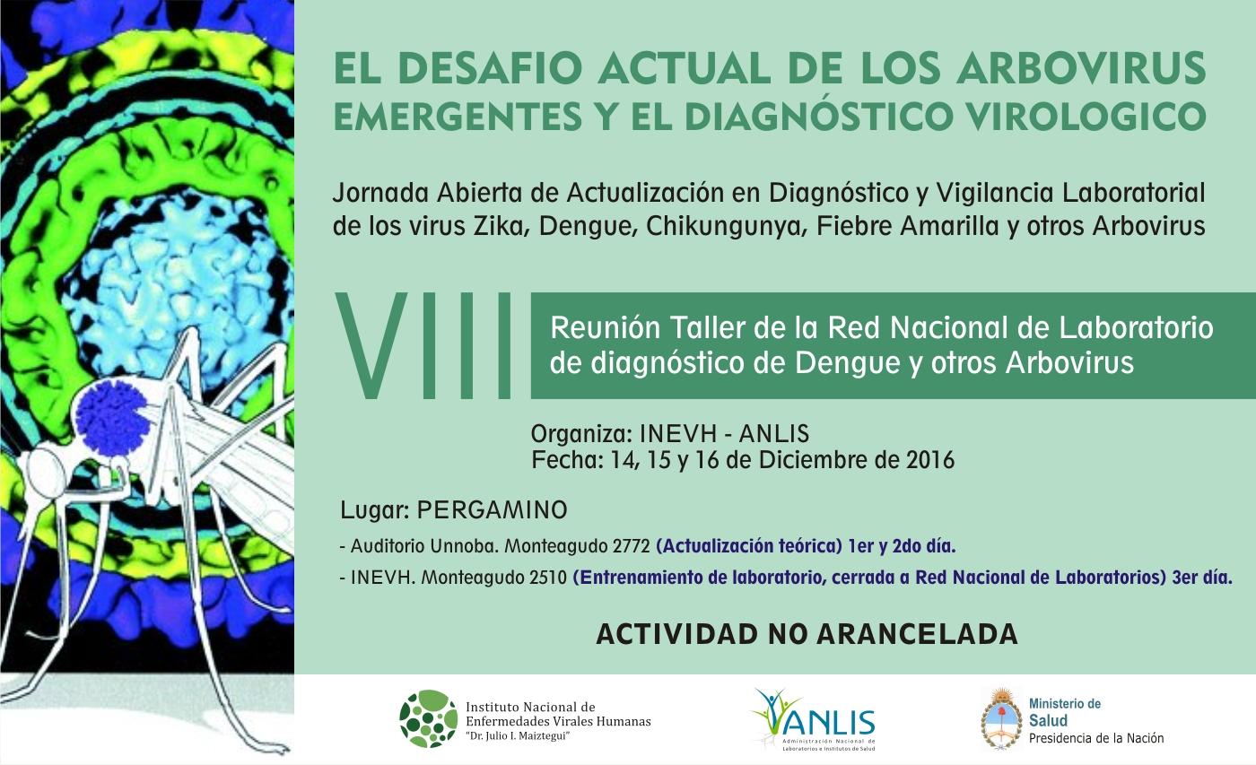 Cartelera - VIII Taller Dengue.