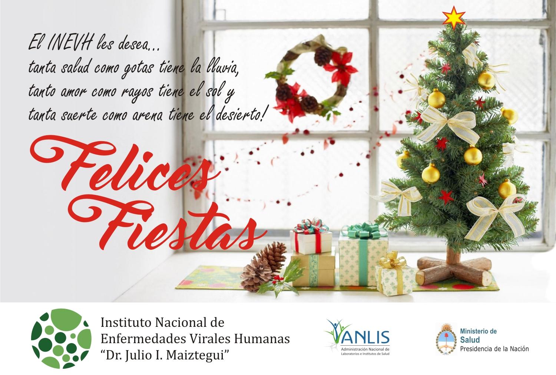 Tarjeta Felices Fiestas 2016.