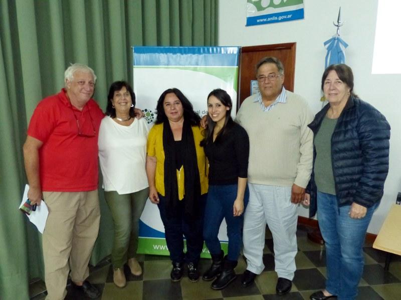 Coordinadores del curso con docentes del INATA CASTELAR