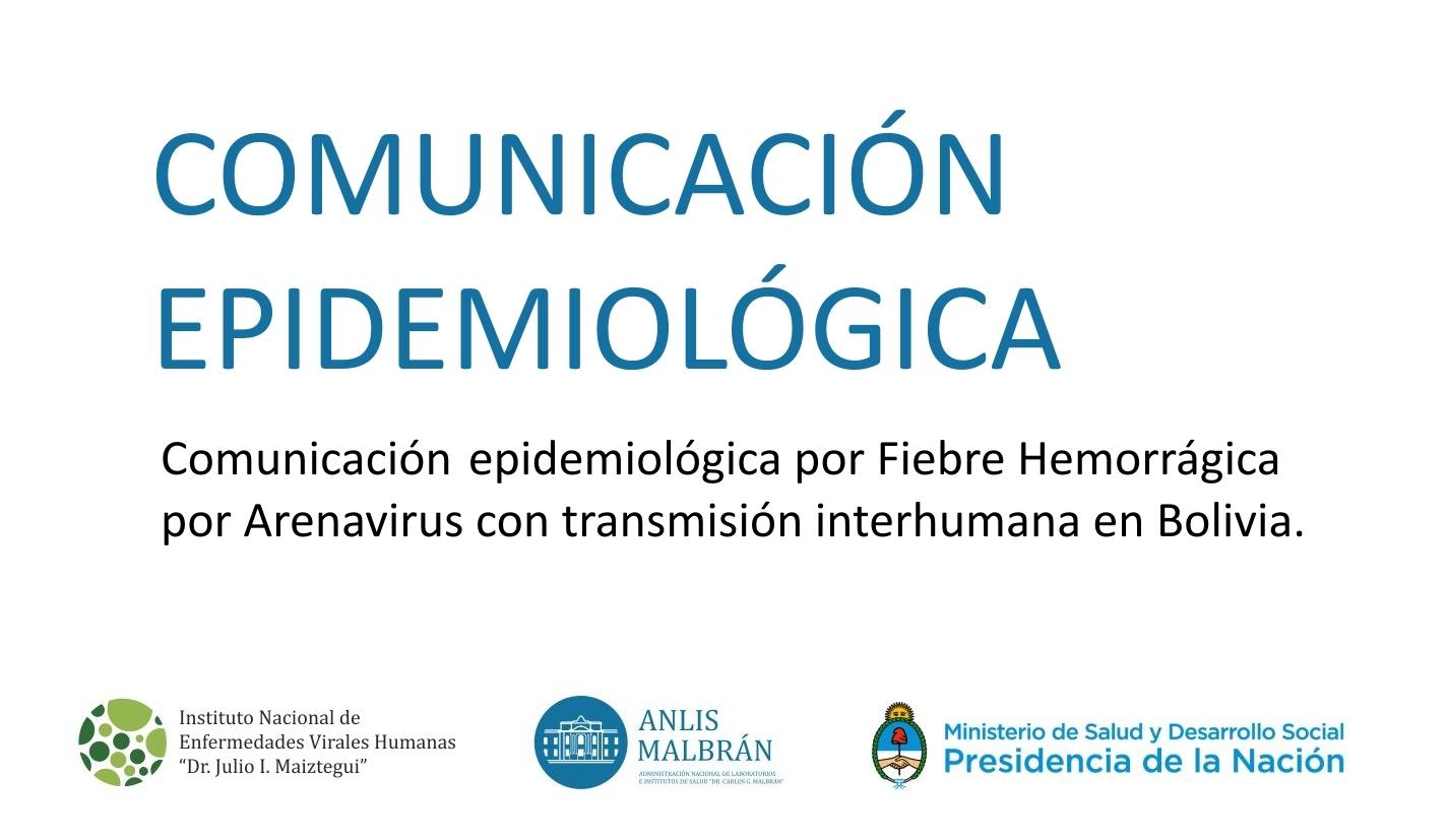 1.Comunicación Epidemiológica
