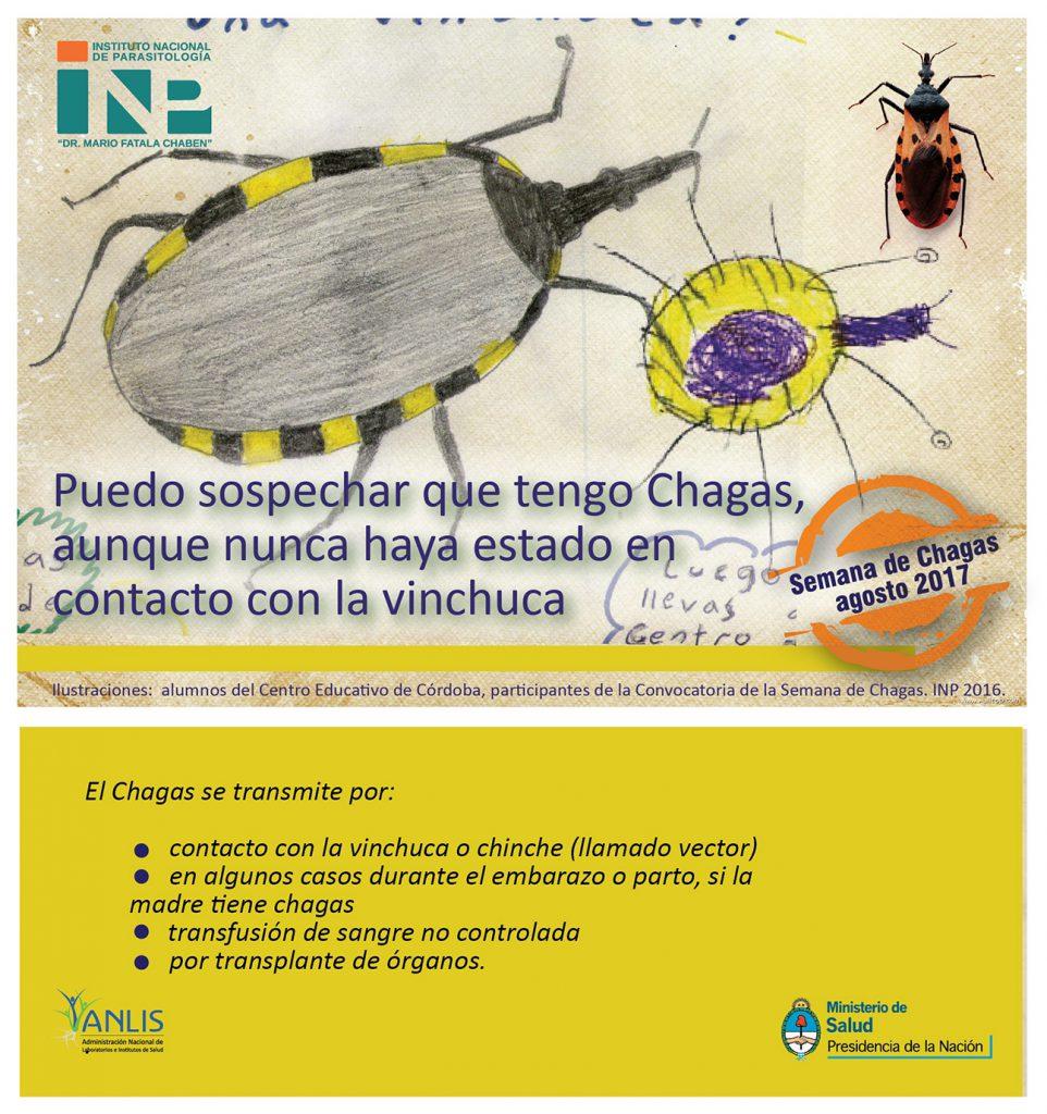 Semana de Chagas 2017- A diez años de la Sanción de la Ley Nacional 26281 que garantiza los derechos de Control y Prevención de la enfermedad de Chagas