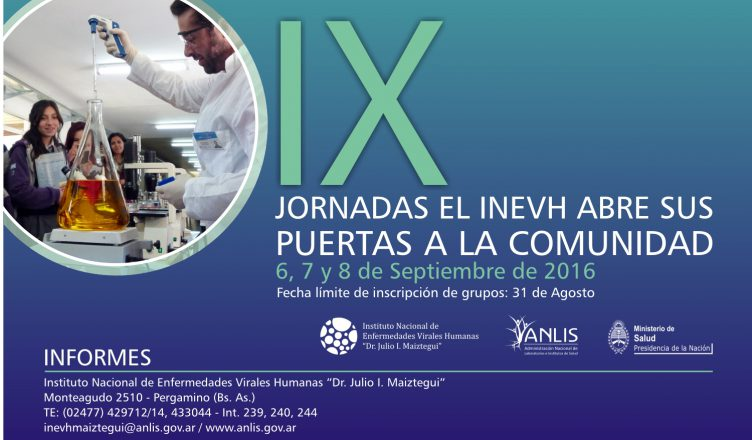 Web ANLIS - IX Jornadas 2016.