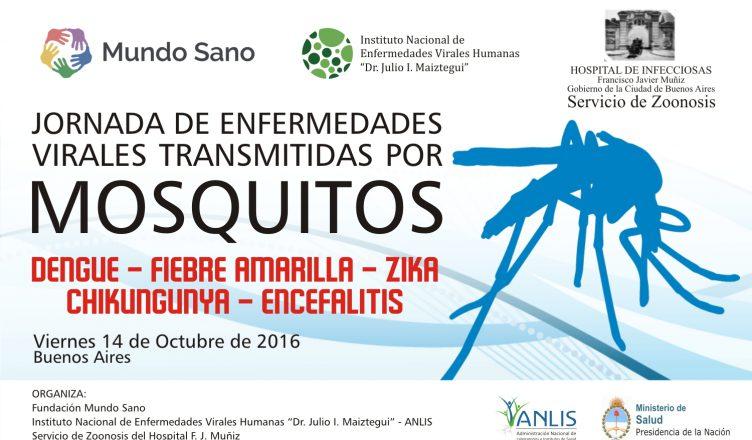cartel jornadas mosquitos.